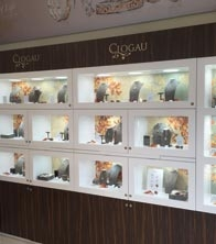 Clogau - Autumn - Cheshire Oaks - Instore Cabinets