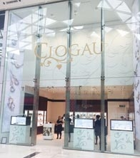 Clogau - Christmas - Window Scheme - Westfield