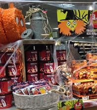 M&S Halloween Food Hall Props