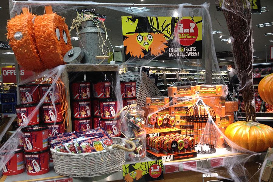 Halloween 2013 Food Hall Props